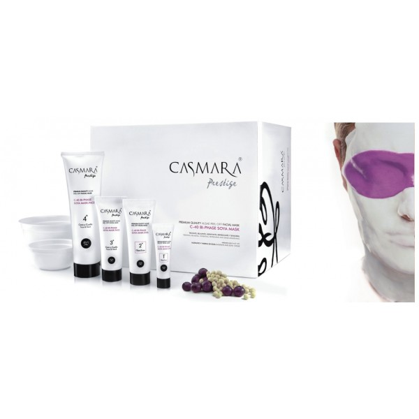 C 40  bi phase soya mask - anti age би фазна маска  Маски - peel off система