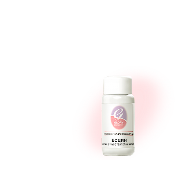 Есцин - разтвор - за чувствителни капиляри - 50 мл Разтвори йонофореза